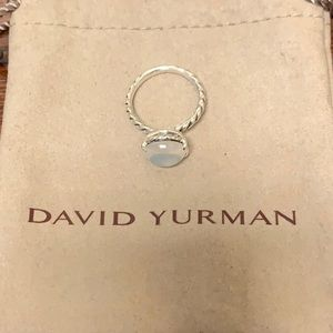 DAVID YURMAN SIZE 7 MOONSTONE RING